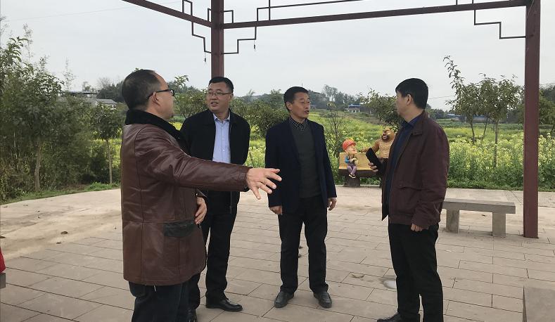 王积军处长调研指导永川青峰里粮油种植合作社