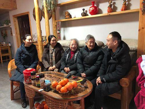 市农技总站开展2021年春节送温暖走访慰问活动